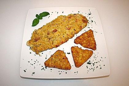 Lauch - Frischkäse - Schnitzel 1