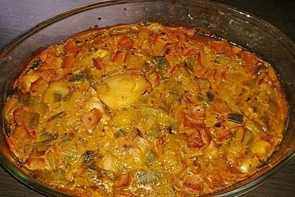 Lauch - Frischkäse - Schnitzel 16