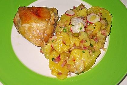 Kartoffelsalat mit Radieschen und Speck 5