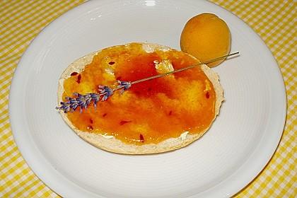 Aprikosen - Lavendel - Marmelade (Bild)