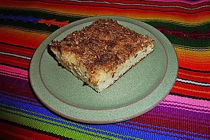 Blitzschneller Buttermilchkuchen mit Kokosraspeln