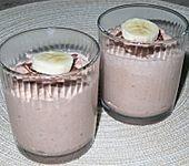 Schokoladen - Bananen - Mousse (Bild)