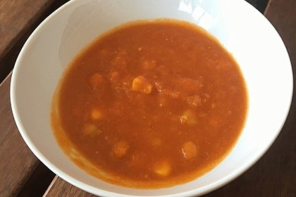 Tomaten - Kichererbsen - Suppe 2