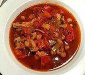 Tomaten - Kichererbsen - Suppe (Bild)