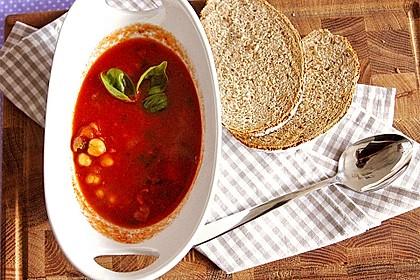 Tomaten - Kichererbsen - Suppe 1
