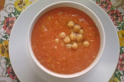 Tomaten - Kichererbsen - Suppe 4