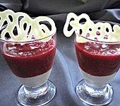 Rhabarber - Erdbeer - Dessert (Bild)