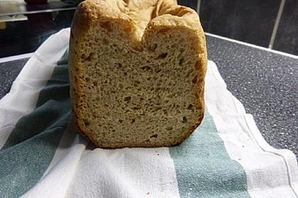 Buttermilchbrot für den Brotbackautomaten (Bild)