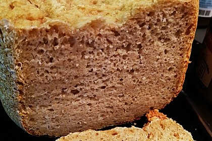 Haferflockenbrot für den Brotbackautomaten 1