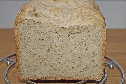 Haferflockenbrot für den Brotbackautomaten