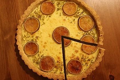 Italienische Zitronentarte 11