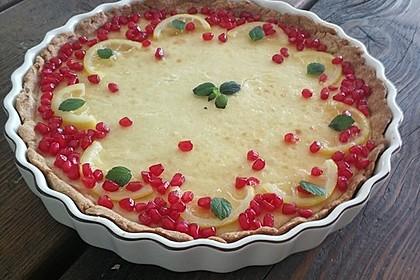 Italienische Zitronentarte 16