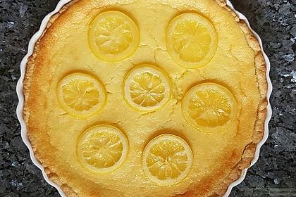 Italienische Zitronentarte 5