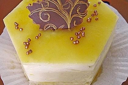 Maracuja - Käse - Sahne - Torte (Bild)
