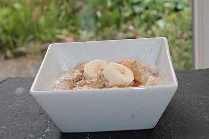 Rhabarber - Bananen - Dessert 8