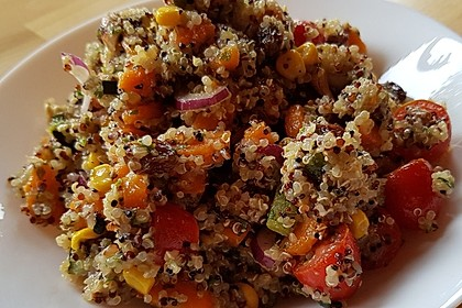 Nussiger Quinoa - Salat 2