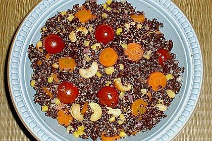 Nussiger Quinoa - Salat