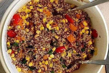 Nussiger Quinoa - Salat 1