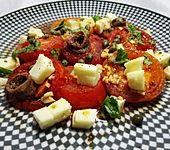 Gebratene Tomaten mit Kapern (Bild)