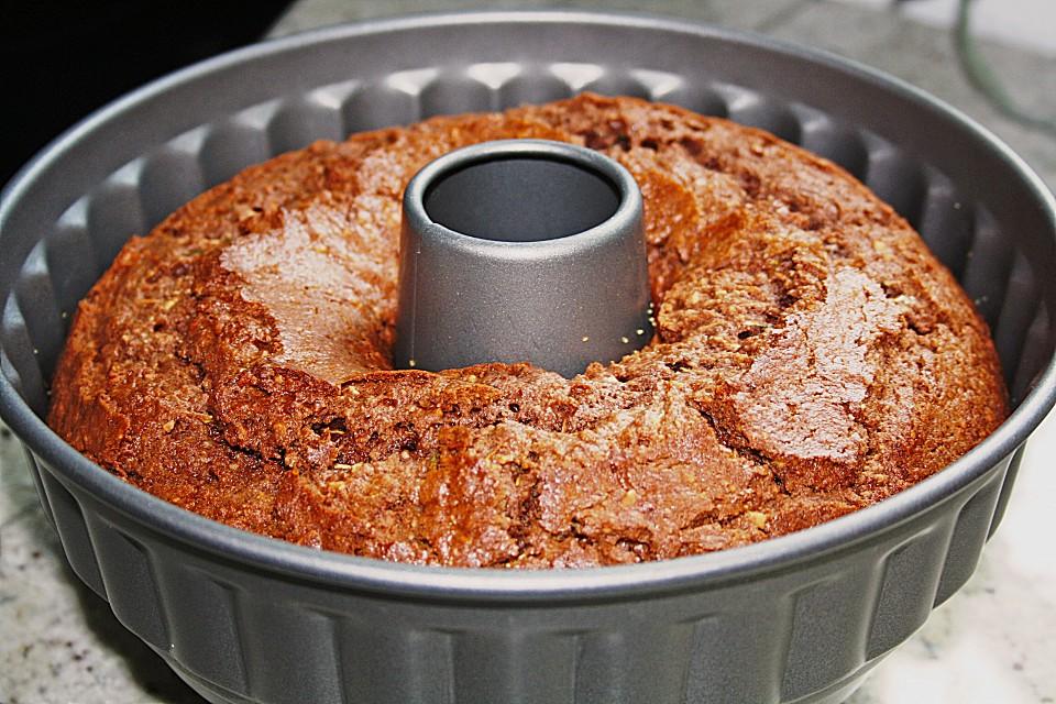Saftiger Zucchini Kakao Kuchen Von Rocky73 Chefkoch De