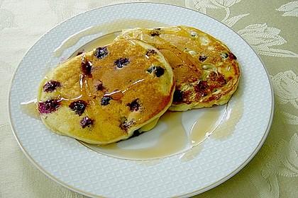 Pancakes mit Blueberries 11