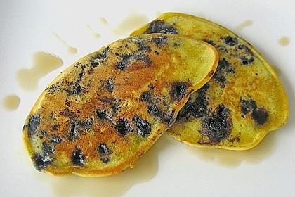 Pancakes mit Blueberries 27