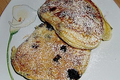 Pancakes mit Blueberries 14