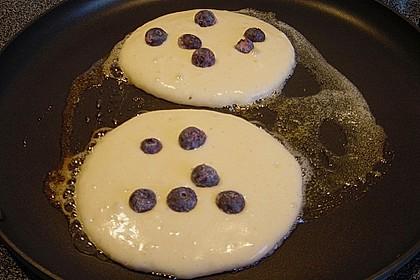Pancakes mit Blueberries 33