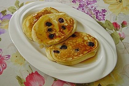 Pancakes mit Blueberries 13