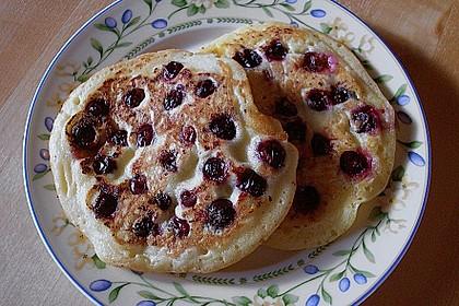 Pancakes mit Blueberries 16