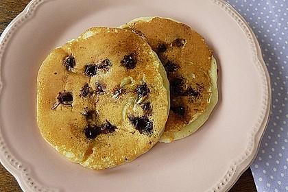 Pancakes mit Blueberries 18
