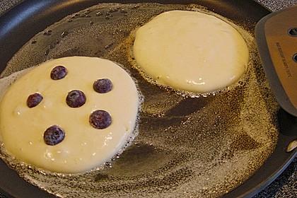 Pancakes mit Blueberries 38