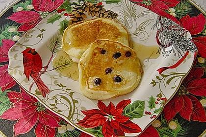 Pancakes mit Blueberries 24