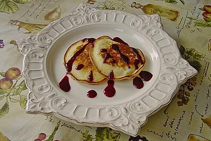 Pancakes mit Blueberries 9