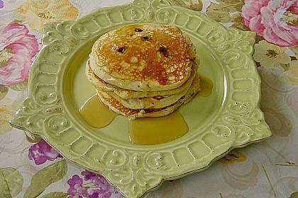 Pancakes mit Blueberries 10