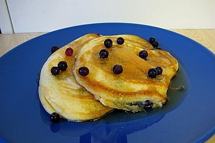 Pancakes mit Blueberries 23