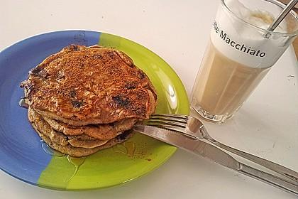 Pancakes mit Blueberries 30