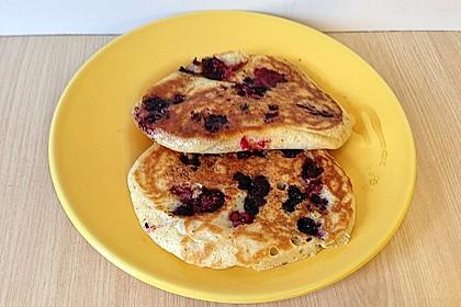 Pancakes mit Blueberries 28