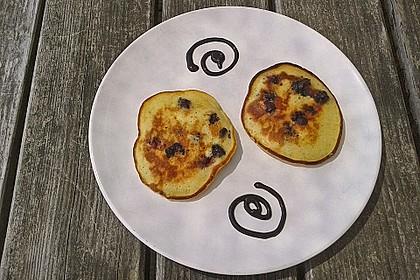 Pancakes mit Blueberries 21