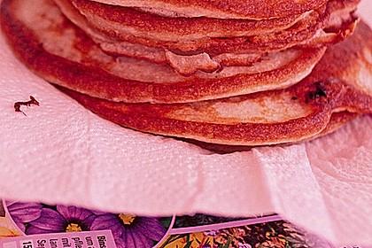 Pancakes mit Blueberries 37