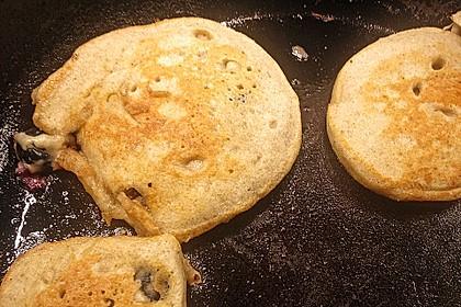 Pancakes mit Blueberries 39