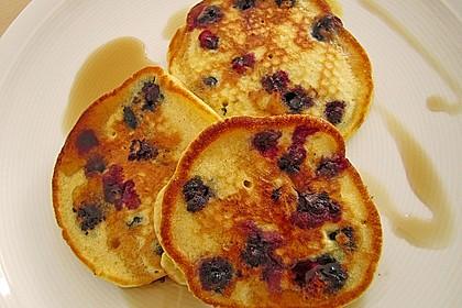 Pancakes mit Blueberries 22