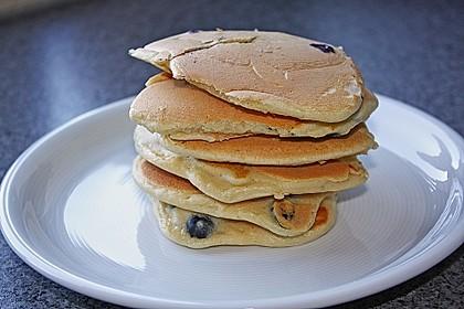 Pancakes mit Blueberries 25