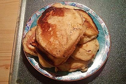 Pancakes mit Blueberries 36