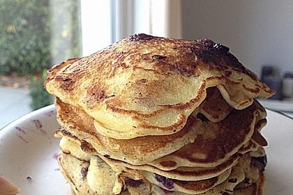 Pancakes mit Blueberries 5
