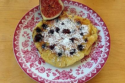 Pancakes mit Blueberries 4
