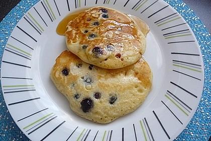Pancakes mit Blueberries 17