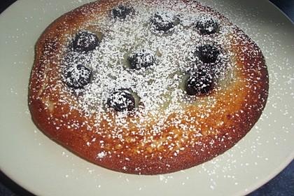 Pancakes mit Blueberries 15