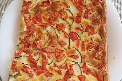 Zucchini - Tomaten - Quiche 3