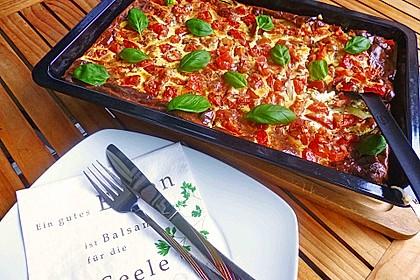 Zucchini - Tomaten - Quiche